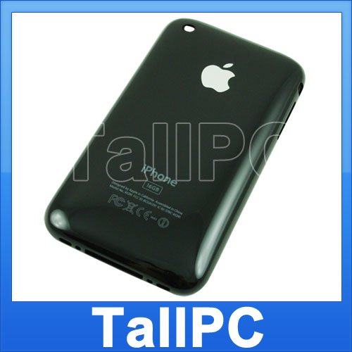 x10 New Iphone 3G Back Cover 16GB iphone 3G Black US