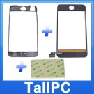 NEW Ipod Touch 2nd Digitizer + Mid Frame + Adhesive US