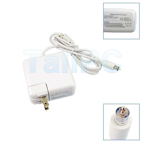 New AC ADAPTER for APPLE G4 PowerBook 24V 2.65A 65W USA