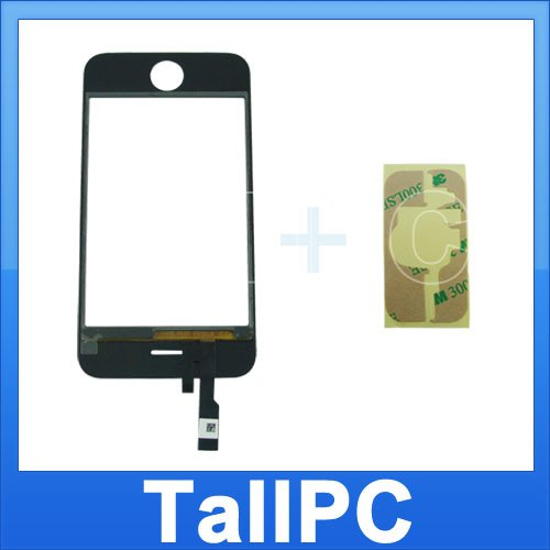 NEW iphone 3G Digitizer Touch Screen w/ adhesive US
