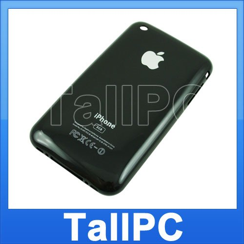 New Iphone 3G Back housing Cover 8GB iphone 3G US Black
