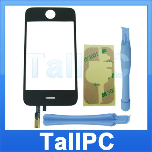Iphone 3G Digitizer Touch Screen + adhesive tools  US