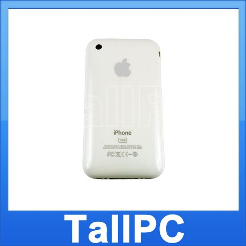 New Iphone 3GS Back Housing Cover 16GB iphone 3GS White