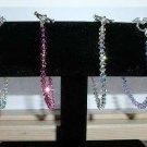 Special $17.99 Hand Crafted Swarovski Crystal Bracelet w/ Sterling SIlver