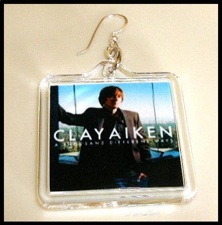 ATDW Clay Aiken Custom Earrings