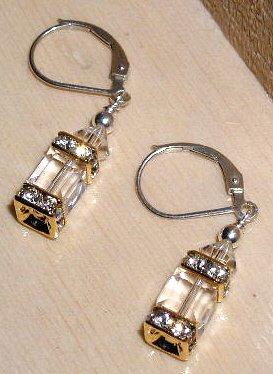 Swarovski Crystal Lantern Earrings