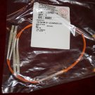 12 ea. C/A 50/125 LC-LC DUPLEX 2gb. 0.5 Meter cables.