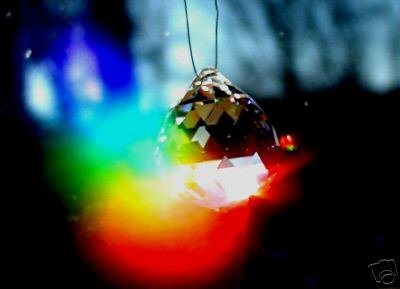 Beautiful 30 MM Crystal Prism Suncatcher