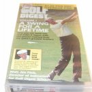 Golf Digest - V. 1 - A Swing for a Lifetime (VHS)