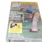 Golf Digest - V. 6 - Putting for Profit (1989, VHS)