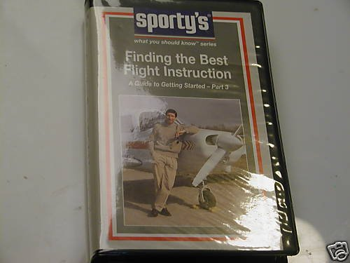 Sporty's Finding the Best Flight Instruction VHS