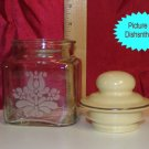 Pfaltzgraff VILLAGE One Pint Canister Etched USA MINT!