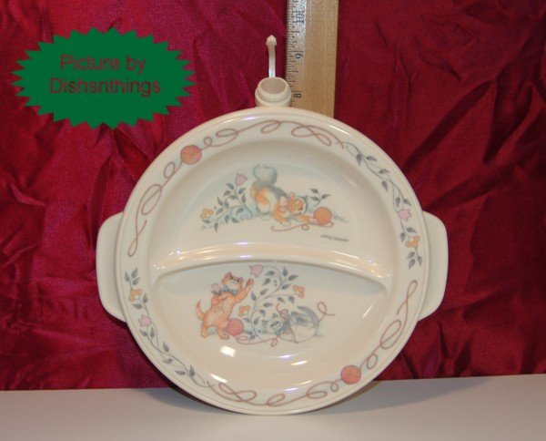 Pfaltzgraff REMEMBRANCE Divided Baby Warming Plate NICE