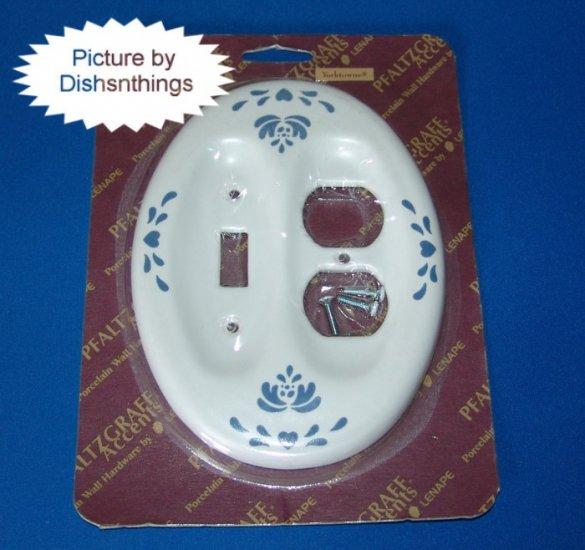 Pfaltzgraff YORKTOWNE Pottery Plug & Switch Plate NIB