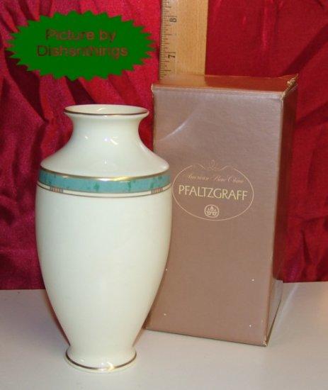 Pfaltzgraff PATINA Bone China 6 Inch Vase NIB USA!!