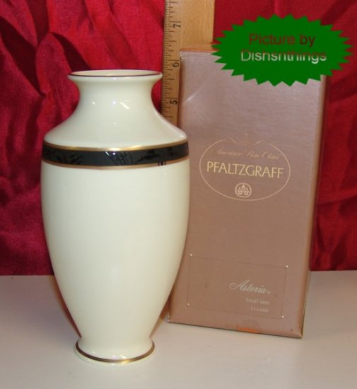 Pfaltzgraff ASTORIA Bone China 6 Inch Vase NIB USA!!