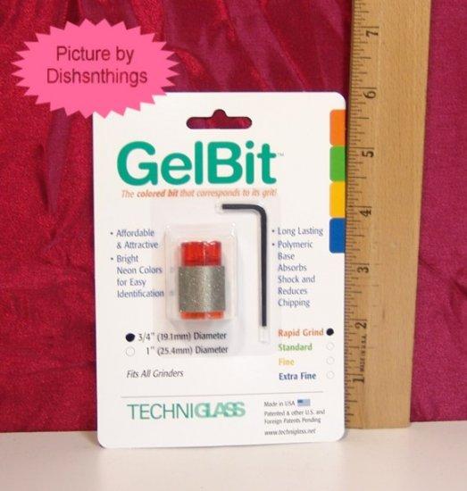 Techniglass GELBIT Grinder Bit ORG Quick Cut 80/100 NIB
