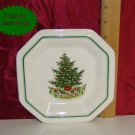 Pfaltzgraff CHRISTMAS HERITAGE Octagon Shaped Tray USA