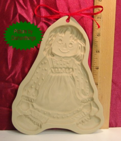 Brown Bag Art 1985 Girl Doll Cookie Press without Book