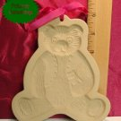 Brown Bag Art 1984 Teddy Bear Cookie Press without Book