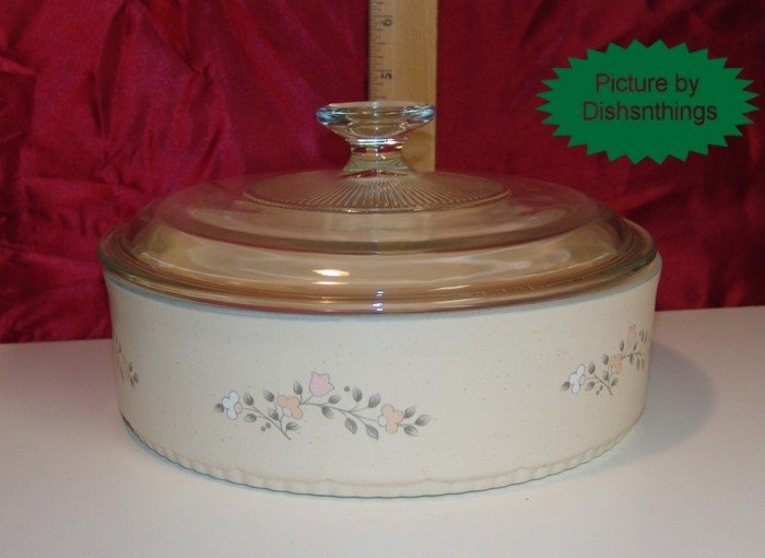 Pfaltzgraff REMEMBRANCE Lidded 1.5 Qt Casserole USA/NOS