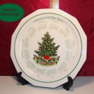 Pfaltzgraff CHRISTMAS HERITAGE Year 2000 Calendar Plate