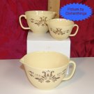 Pfaltzgraff VILLAGE 3pc Melamine Measure Cup Set NEW!