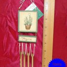Pfaltzgraff NATUREWOOD Thyme Resin Wind Chime NWT !!