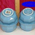 Pfaltzgraff HERITAGE Slate Blue Dessert Bowls 4 NOS USA