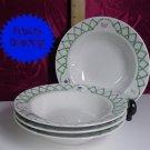 Pfaltzgraff GARDEN TRELLIS 4 Wide Rim Bowls A+