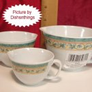 Pfaltzgraff FRENCH QUARTER 3pc Melamine Measure Cup Set