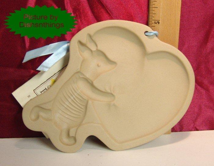 DISNEY Brown Bag Art Cookie Press Piglet with Big Heart