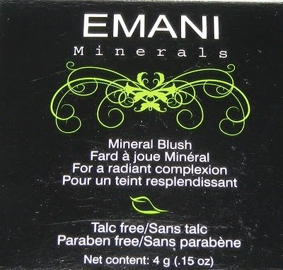 Emani Pressed Mineral Blush. A lot of shades