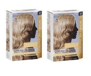 5X Loreal DREAM BLONDE Hair Color * 10 Lightest Blonde