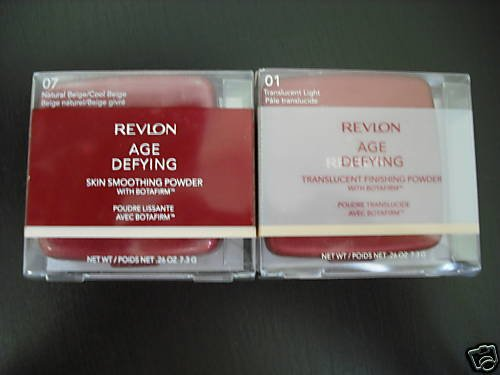 8  Revlon Age Defying Skin Smoothing Powder w/Botafirm