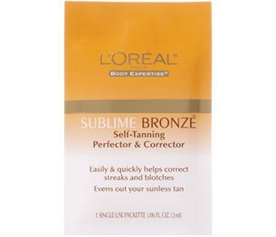 LOT OF 10 LOREAL SUBLIME BRONZE SELF-TANNING Perfector