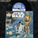 STAR WARS-STORY MUSIC AND PHOTOS- 7 INCH 33 - NM