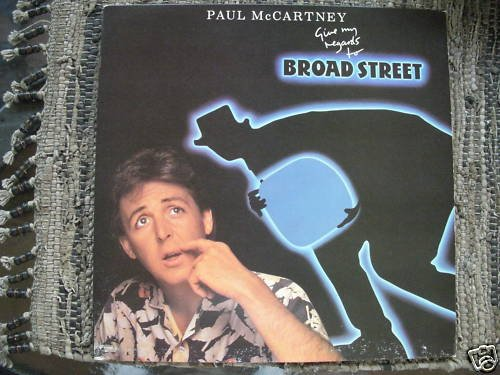 PAUL McCARTNEY-GIVE MY REGARDS TO BROAD STREET-NM LP
