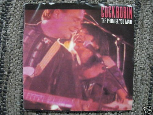 COCK ROBIN - THE PROMISE YOU MADE -COLUMBIA PROMO - NM