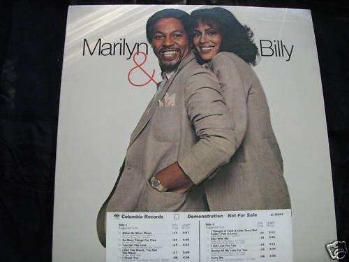 MARILYN McCOO & BILLY DAVIS JR.-MARILYN & BILLY - PROMO