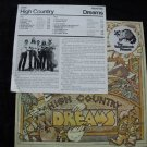 HIGH COUNTRY-DREAMS PROMO WHITE LABEL WB- NM