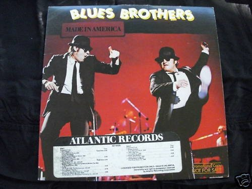 BLUES BROTHERS - MADE IN AMERICA - ATLANTIC PROMO -NM