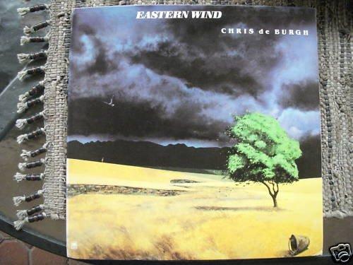 CHRIS DE BURGH - EASTERN WIND - A&M PROMO LP -MINT
