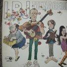 LBJ MENAGERIE - RARE COMDEY LP - JUBILEE RECORDS-