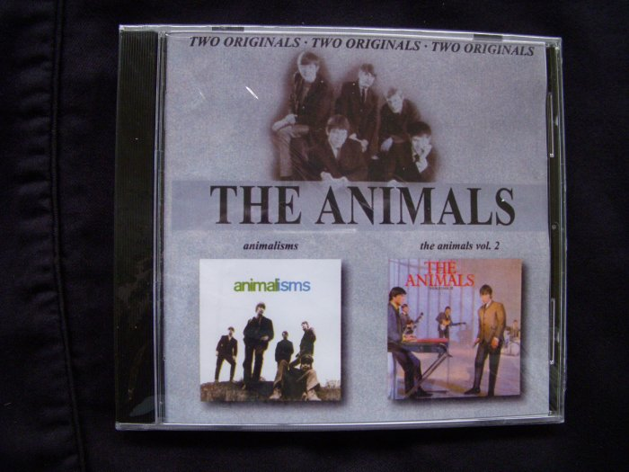 THE ANIMALS - 2 LPS ONE CD - THE ANIMALS / ANIMAL TRACK
