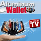 Aluminum  Wallet RDIF black, Aluminum Security Wallet, Seen on TV
