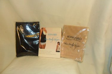 2 Tops Kymaro New Body Shaper Black