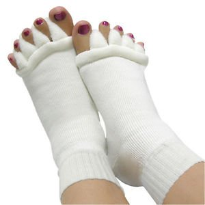 Foot&Toes Alignment Men Women Cotton Socks Stretch Tendon Relieve Pain Medium