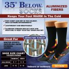 35 Below Socks 1 pair - Large - Black