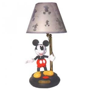 DISNEY DISNEYS ANIMATED MICKEY LAMP